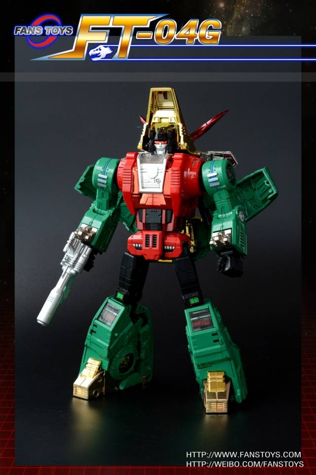 Fans Toys FT-04G G2 Green Version Scoria