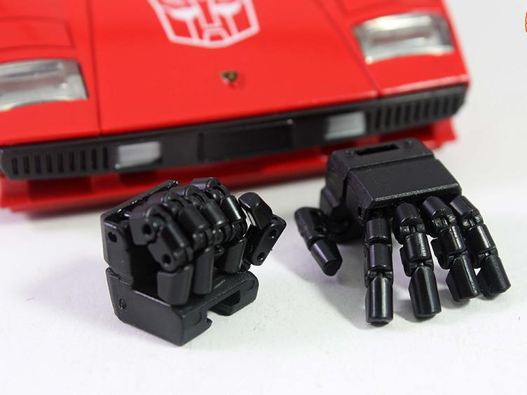 KFC KP-10 Hands for MP-12 Sideswipe