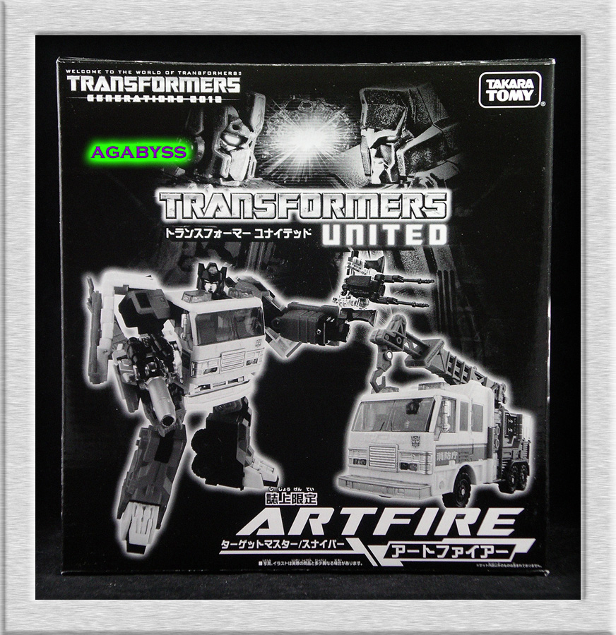 Million Publishing Generations 2012 Exclusive Transformers United Artfire
