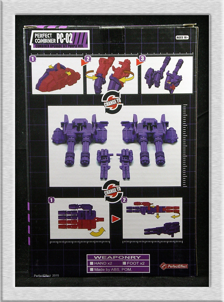 Perfect Effect PC-02 Purple Combiner Upgrade