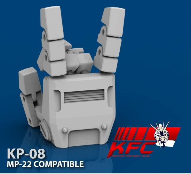 KFC KP-08 Hands for MP-22 Ultra Magnus