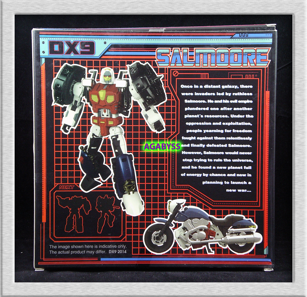 DX9 Toys UT-D001 Salmoore
