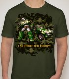EXCLUSIVE WOUNDED WARRIOR CHARITY T-SHIRT BY WILLIAM MAC DONALD AKA UNICRON-WMD