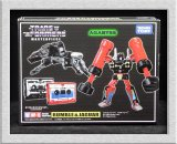 Masterpiece MP-15 Rumble & Jaguar Cassettes Reissue