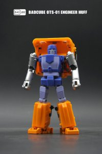 Badcube Old Time Series OTS-01 Engineer Huff